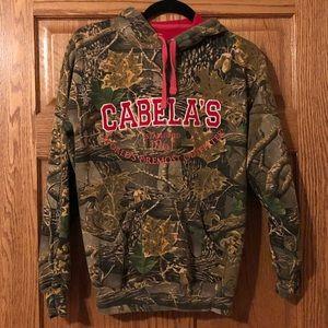 Cabelas hooded sweatshirt